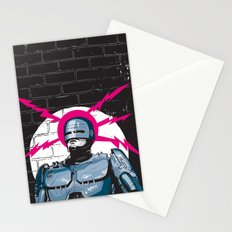 Robocop In Love Stationery Cards