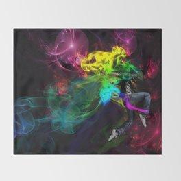 Street Dancer  Throw Blanket