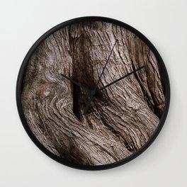 Tree Trunk Root Texture Wall Clock