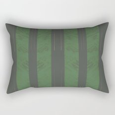 Green Wood Rectangular Pillow