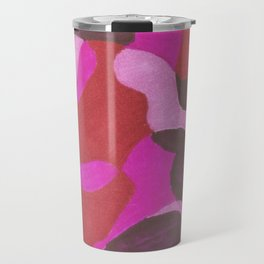 composición en rosa Travel Mug