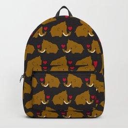 Kawaii mammoths Backpack