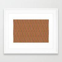 africa Framed Art Prints featuring Africa by Okopipi Design