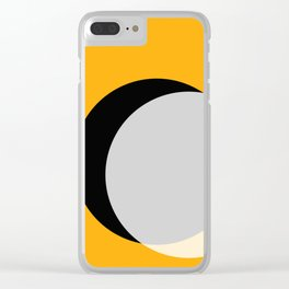 Eclipse - Gold Variant Clear iPhone Case