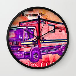 Classic Commercial Motor Vehicle Wall Clock