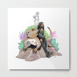 King Richard & Tad Cooper Metal Print