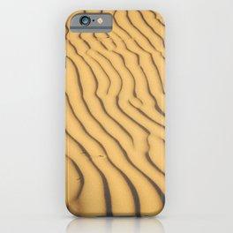 sand ripples iPhone Case