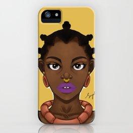 Adaku iPhone Case