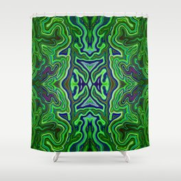 Abstract #1 - VII - Electric Light Orchestra Shower Curtain
