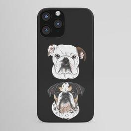 Sir Meatball and Lorde Milkshake iPhone Case