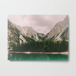 Braies Lake #3 Metal Print