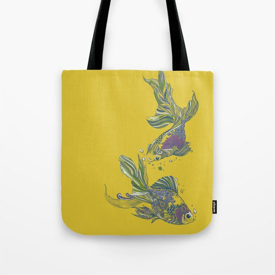 Blooming in Deep Tote Bag