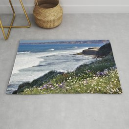 La Jolla Beauty by Reay of Light Photography Rug