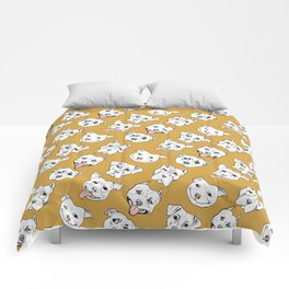 Pittie Pittie Please! 2 Comforters