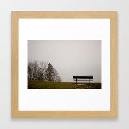Foggy View Framed Art Print