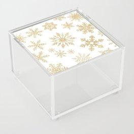 Snowflake Pattern 01 Acrylic Box