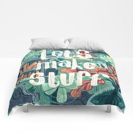 Let's Make Stuff Comforters