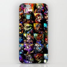 Videogame MashUP iPhone & iPod Skin