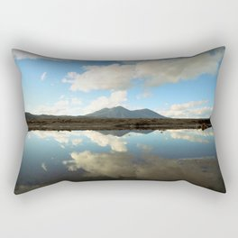 Mt. Konocti Reflects On Clear Lake Rectangular Pillow