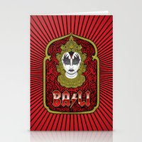 bali Stationery Cards featuring Bali Rocks by Roberlan Borges