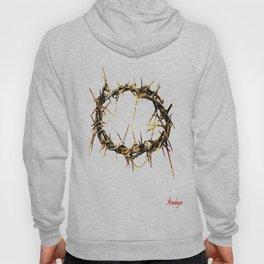 corona de espinas ( crown of thorns ) Hoody