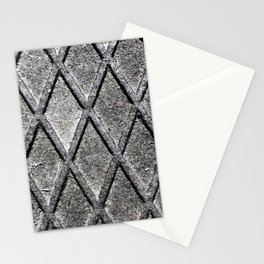 Metal Grid Stationery Cards
