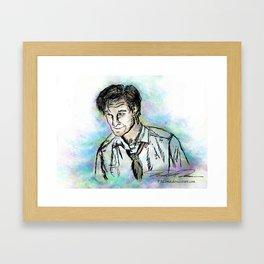 Hello, Amelia Pond... Framed Art Print
