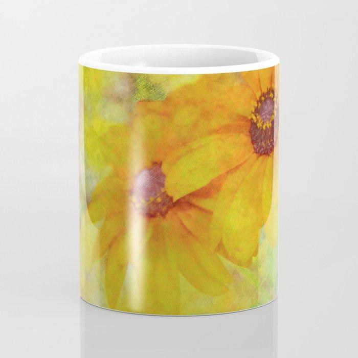Soft Yellow Flowers Coffee Mug