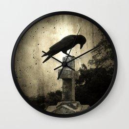 The Crow's Cross Wall Clock