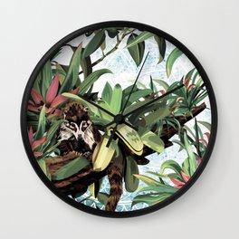 Ring tailed Coati Wall Clock