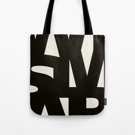 Wismar Typografie Tote Bag