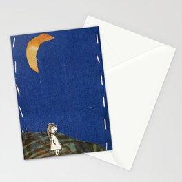 Walking through dusk Stationery Cards