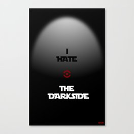 THE DARKSIDE Canvas Print