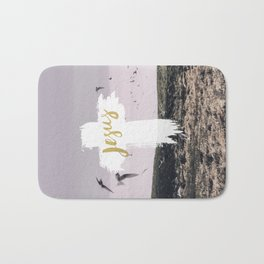 JESUS | EASTER | CROSS Bath Mat