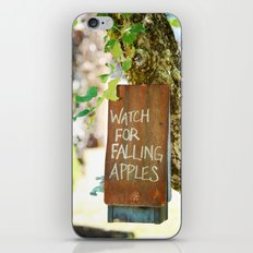 Falling Apples iPhone & iPod Skin