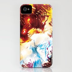 A Dragon Taught me Fire Slim Case iPhone (4, 4s)