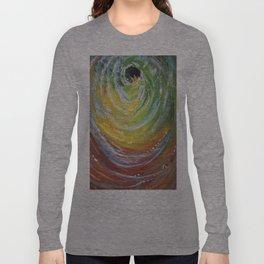 Green Tidal Long Sleeve T-shirt