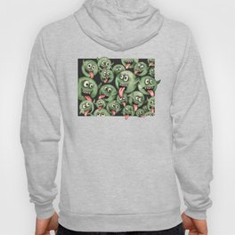 Green Graffiti Creatures Hoody