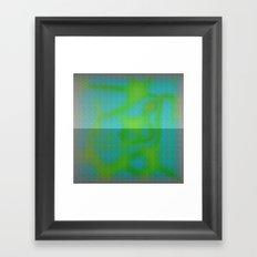 Yellow Color Leak Framed Art Print