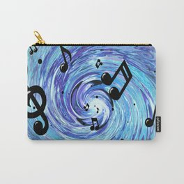 Musical Blue Carry-All Pouch
