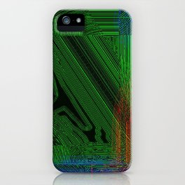 Green Slug iPhone Case