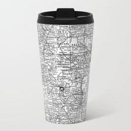 Vintage Map of Michigan (1909) Travel Mug