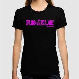 Rescue Hot Pink T-shirt