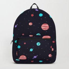 Bright night sky Backpack