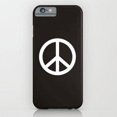 peace symbol flag sign iPhone 6 Slim Case