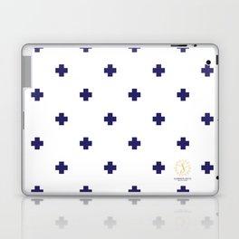 Modern Swiss - Bold Style Cross Plus Sign Laptop & iPad Skin