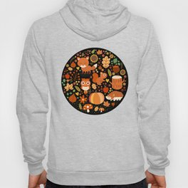 Autumn Party For Forest Friends Hoody