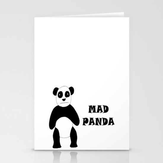 MAD PANDA Stationery Cards