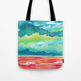 Abstract Seascape IV Tote Bag