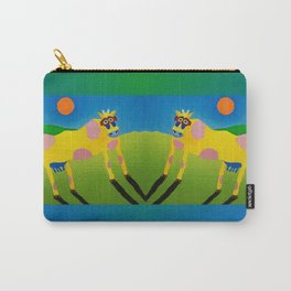 Udderly Abstract 7 - Funny Cow Art Carry-All Pouch